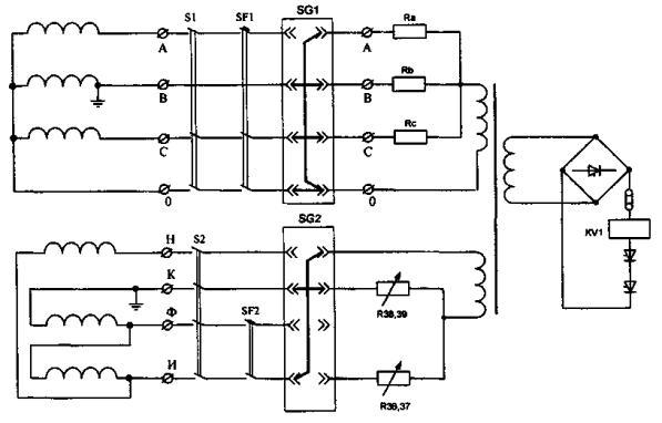 Схемы системы охлаждения генератора электростанции